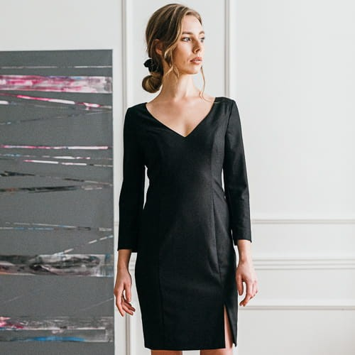 It Dress Black, czarna sukienka