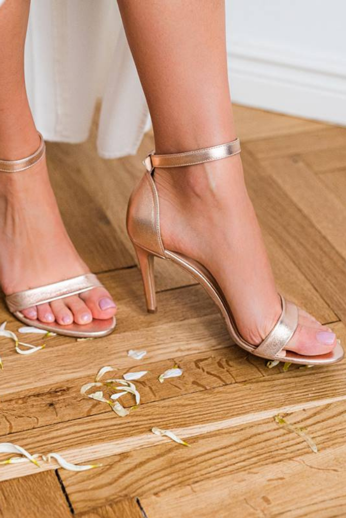 Princess Shoes, sandałki rose gold